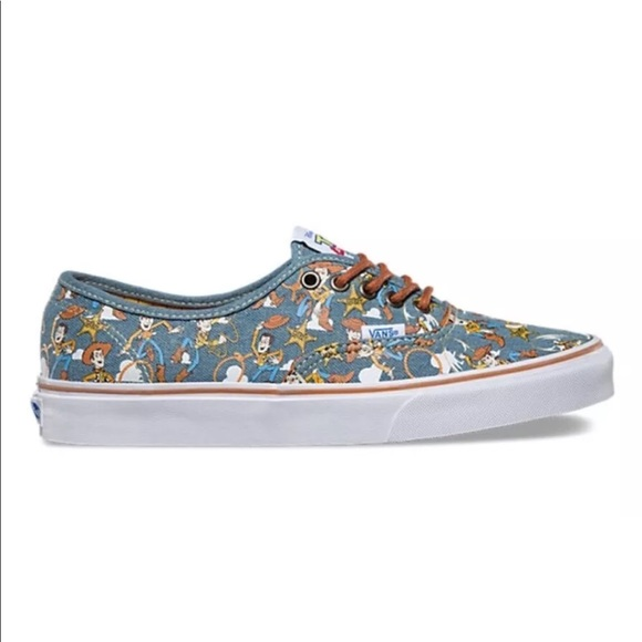 cf0a5d8f5e Vans Toy Story Authentic Woody Blue True Sneakers